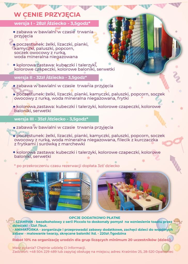 Propozycje urodzinki dla dzieci